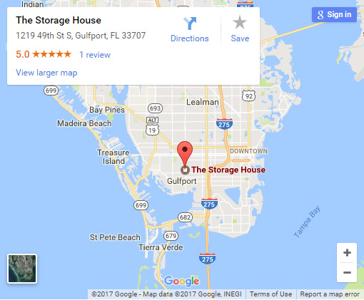 The Storage House in Gulfport